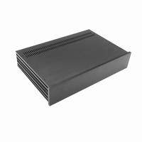 MODU Slimline 1NSL02280N, 10mm black front, 435x293x82mm