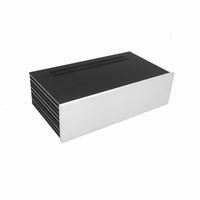 MODU Slimline 1NSL03230B, 10mm silver front, 435x243122mm