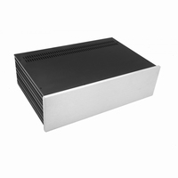 MODU Slimline 1NSL03280B, 10mm silver front, 435x293x122mm