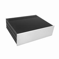 MODU Slimline 1NSL03350B, 10mm silver front, 435x363x122mm