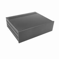 MODU Slimline 1NSL03350N, 10mm Schwarzes Front, 350mm Tief<br />Price per piece