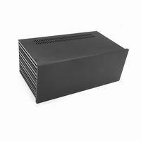 MODU Slimline 1NSL04350N, 10mm black front, 435x363x167mm
