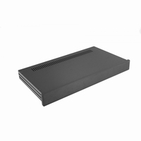 MODU Slimline 1NSLA01230N, 10mm black front, 435x243x44mm