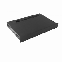 MODU Slimline 1NSLA01280N, 10mm black front, 435x293x44mm