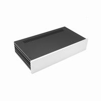 MODU Slimline 1NSLA02230B, 10mm silver front, 435x243x84mm