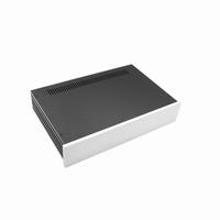 MODU Slimline 1NSLA02280B, 10mm silver front, 435x293x84mm