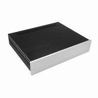MODU Slimline 1NSLA02350B,10mm silver front, FA, 350mm deep