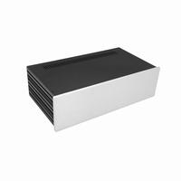 MODU Slimline 1NSLA03230B,10mm silver front, FA, 230mm deep