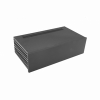 MODU Slimline 1NSLA03230N,10mm black front, 435x243x124mm