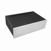 MODU Slimline 1NSLA03280B,10mm silver front, 435x293x124mm