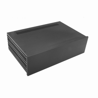 MODU Slimline 1NSLA03280N,10mm black front, 435x293x124mm