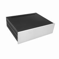 MODU Slimline 1NSLA03350B,10mm silver front, FA, 350mm deep