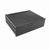 MODU Slimline 1NSLA03350N,10mm black front, FA, 350mm deep