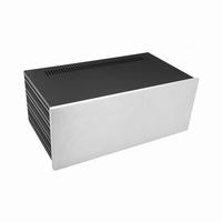 MODU Slimline 1NSLA04230B,10mm silver front, 435x243x169mm