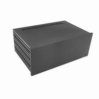 MODU Slimline 1NSLA04280N,10mm black front, 435x293x169mm