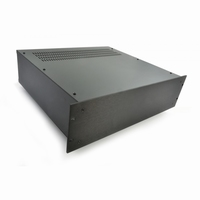 "MODU Pesante 1PS03P400N, 3U/19""  black front, 400mm deep<br />Price per piece"
