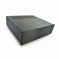 MODU 1NPS03P400N, Pesante cabinet, 450x400x132mm, black 10mm