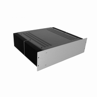 "MODU Dissipante 1PD03400B, 3U/19"" silber Front, Tiefe 400mm<br />Price per piece"