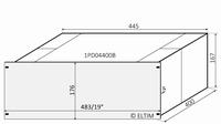 MODU Dissipante 1PD04400B, 4U/19