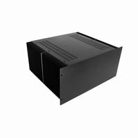 """MODU Dissipante 1PD04400N, 4U/19"""" zwart front, diepte 400mm<br />Price per piece"""
