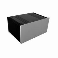 MODU Dissipante 1NPD04300B, 10mm silver front, 448x313x167mm