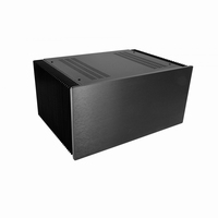 MODU Dissipante 1NPD05300N, 10mm black front, 448x313x212mm