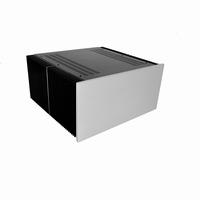 MODU Dissipante 1NPD05400B, 10mm silver front, 448x413x212mm