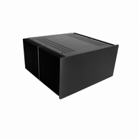 MODU Dissipante 1NPD05400N, 10mm  black front, 400mm deep<br />Price per piece