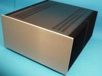 MODU Dissipante 1NPD05500B, 10mm  silver front, 500mm deep