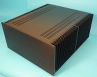 MODU Dissipante 1NPD05500N, 10mm  black front, 500mm deep