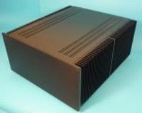 MODU Dissipante 1NPD05500N, 10mm black front, 448x513x212mm