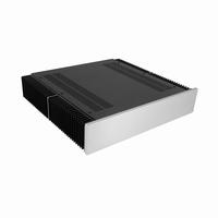 MODU Dissipante 1NPDA02400B, 10mm  silver front, 400mm FA<br />Price per piece