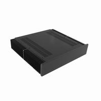 MODU Dissipante 1NPDA02400N, 10mm  black front, 400mm FA<br />Price per piece