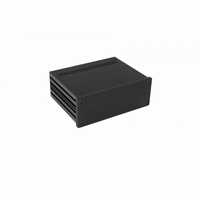 MODU 1NGXA287N, Galaxy  cabinet, full alu, 10mm front black,