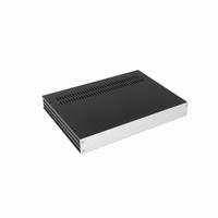MODU 1GX343, Galaxy cabinet 330x230x42mm, silver front