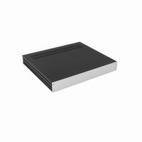 MODU 1GX348, Galaxy cabinet 330x280x42mm, silver front