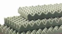Polyurethane eggfoam, 50x40x5,5cm<br />Price per piece