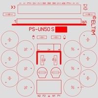 ELTIM PS-UN50S LP, Power Supply +/-50V, 4A max.