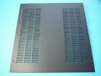 MODU Dissipante series alu top cover, black, 400mm