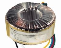 Toroidal transformer, 50VA, 230V>2x12V