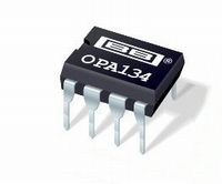 BURR-BROWN/TI OPA-134PA, single operational amplifier, DIP8<br />Price per piece