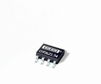 TI OPA2134UA dual opamp, SO8