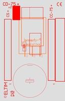 ELTIM CD-80 HQ, Mosfet add-on module, 80x50mm