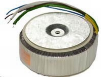 TALEMA Toroidal transformer, 80VA, 230V>2x25V<br />Price per piece