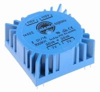 TALEMA Toroidal transformer, 7VA, 2x115V>2x7V<br />Price per piece