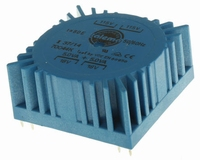 TALEMA Toroidal transformer, 10VA, 2x115V>2x18V