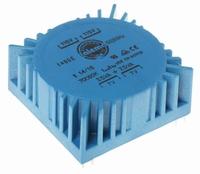 TALEMA Ringkern Transformator, 15VA, 2x115V>2x7V