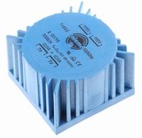 TALEMA Ringkern Transformator, 25VA, 2x115V>2x7V<br />Price per piece