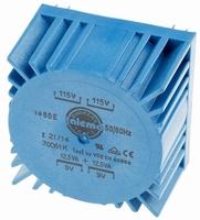 TALEMA Toroidal transformer, 25VA, 2x115V>2x9V