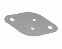Silicon/glassfibre insulating pad for TO-3, 0,9K/W
